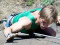 Free Climber Stock Photography - 9723552