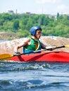 Free Kayaker Royalty Free Stock Images - 9723909