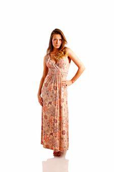 Free Sundress Royalty Free Stock Image - 9720056
