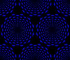 Free Seamless Blue Whirl Pattern Stock Image - 9720211