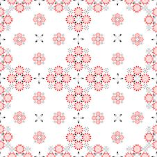 Free Seamless Pattern. Royalty Free Stock Photography - 9720817
