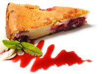 Free Dessert - Cherries Cake Royalty Free Stock Image - 9721256