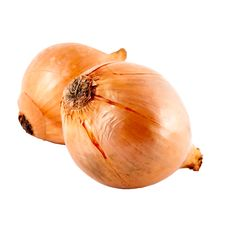 Free Large Onions With Clipping Path Royalty Free Stock Image - 9721706