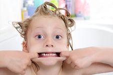 Free Bathroom Monster Stock Photo - 9721980