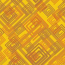 Seamless Yellow Pattern Royalty Free Stock Image