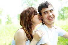 Free Happy Couple Royalty Free Stock Images - 9723089