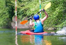 Free Kayaker Stock Photos - 9723793