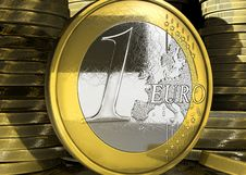 Free Euro Coin Concept Stock Images - 9723824