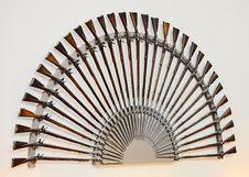 Rifles And Bayonets Royalty Free Stock Image