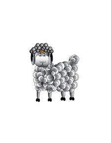 Free Sheep , Aries Royalty Free Stock Photo - 9724165