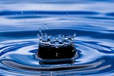 Free Blue  Water Royalty Free Stock Image - 9724916