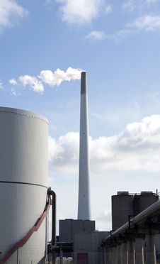 Free Power Plant Environment Royalty Free Stock Images - 9724989