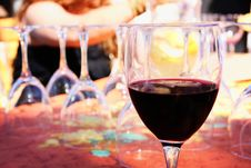 Free Glass Of Red Stock Images - 9725324