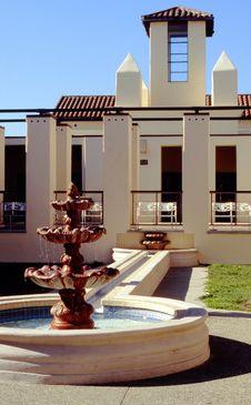 Free Copyright Library Atrium, San Juan Capistrano, CA Royalty Free Stock Photo - 9725635