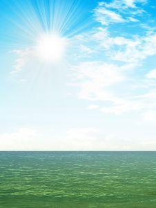 Free Sea Royalty Free Stock Image - 9726576