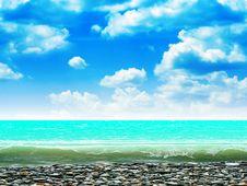 Free Sea Royalty Free Stock Photos - 9726628