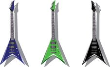 Free Vector Series. Electric Guitars Stock Photo - 9727140