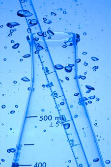 Free Laboratory Glass Royalty Free Stock Image - 9728166