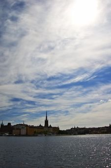 Free View Over Stockholm City Royalty Free Stock Photography - 9728287