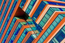 Menzis Office Building Detail, Netherlands Royalty Free Stock Images