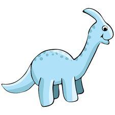 Free Dinosaur Illustration Royalty Free Stock Images - 9729389