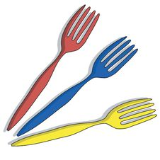 Free Forks Stock Image - 9729791