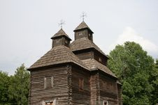 Free Ukrainian Church. Gate. Royalty Free Stock Photo - 9729875