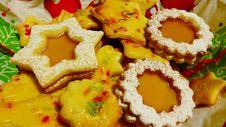 Free Christmas Cookies Stock Image - 97208011