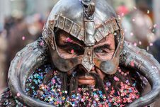 Free Man Wearing Viking Helmet Focus Photography Stock Photo - 97208500