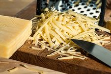 Free Grated Cheese Stock Photo - 97208700