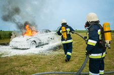 Free Motor Vehicle, Firefighter, Profession, Fireman Stock Image - 97210691