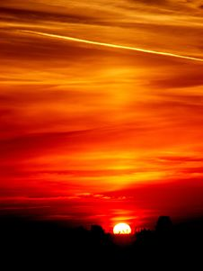 Free Sky, Red Sky At Morning, Afterglow, Horizon Royalty Free Stock Photos - 97210978