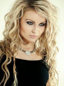Free Hair, Human Hair Color, Blond, Beauty Stock Photos - 97212923