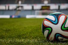 Free Football, Grass, Player, Ball Stock Photos - 97213213
