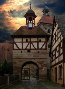 Free Medieval Architecture, Landmark, Sky, Building Royalty Free Stock Photography - 97217137