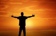 Free Sky, Silhouette, Sunrise, Sun Royalty Free Stock Image - 97217726