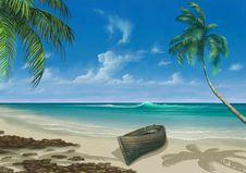 Free Tropics, Caribbean, Sky, Sea Royalty Free Stock Image - 97218666