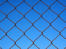 Free Blue, Pattern, Net, Sky Stock Images - 97219584