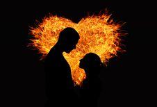 Free Orange, Flame, Heat, Darkness Royalty Free Stock Photo - 97274875