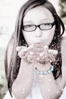 Free Face, Vision Care, Glasses, Girl Royalty Free Stock Photos - 97275248