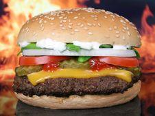 Free Hamburger, Fast Food, Cheeseburger, Veggie Burger Stock Photos - 97287633