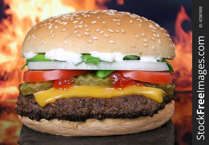 Hamburger, Fast Food, Cheeseburger, Veggie Burger