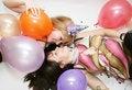 Free Two Woman Celebrating Birthday Stock Photography - 9736652