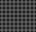 Free Seamless Black And White Pattern Royalty Free Stock Photos - 9738798