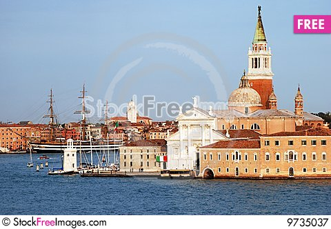 Free Venice View Royalty Free Stock Photography - 9735037