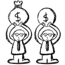 Free Cartoon Business Man Stock Photos - 9730303
