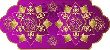 Free Antique Ottoman Gold Design Stock Image - 9730311
