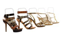 Free Womanish Shoes Royalty Free Stock Images - 9730669