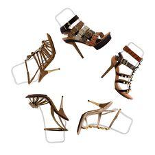Free Womanish Shoes Stock Image - 9730731