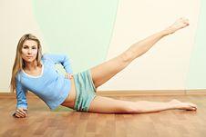 Free Flexible Girl Stock Image - 9730811